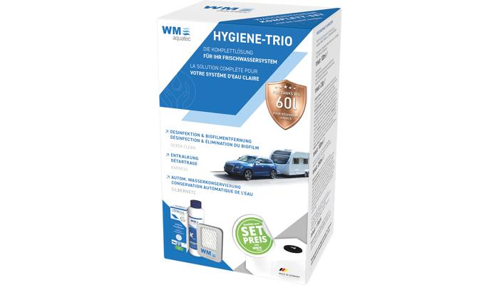 WM Aquatec Hygiene-Trio bis 50 l Tanks