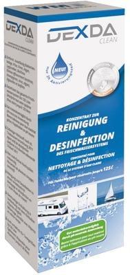 WM Aquatec DEXDA clean Desinfektionsreiniger für Tankgrößen bis 50 Liter (100 ml)