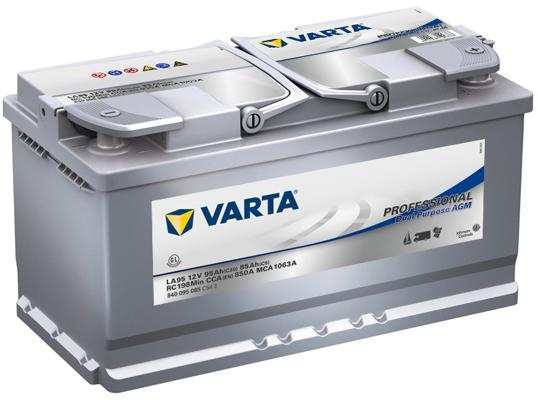 varta professional dual purpose agm la95 agm batterie. Black Bedroom Furniture Sets. Home Design Ideas