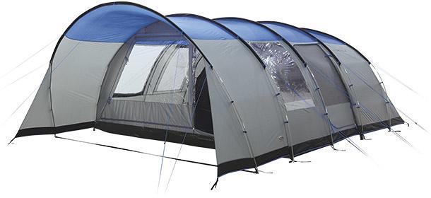 High Peak 6 Personen Tunnelzelt Tauris | 6 Mann Zelte