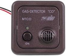 "CBE Gas-Detector ""CO"", 12V, braun"
