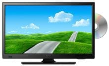 "Megasat CTV 19 Plus LED TV, 19,5"" (49,4cm), Triple-Tuner, DVD, HD-ready"