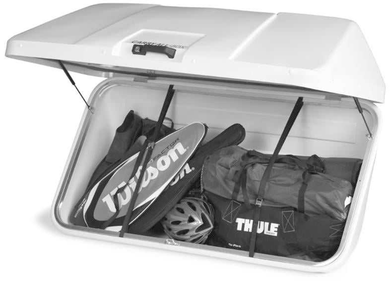 thule carry all box 150 heckbox 450l von thule fahrradtr ger bei camping wagner campingzubeh r. Black Bedroom Furniture Sets. Home Design Ideas