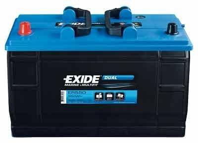 exide dual er 550 blei s ure batterie 115ah von exide bei. Black Bedroom Furniture Sets. Home Design Ideas