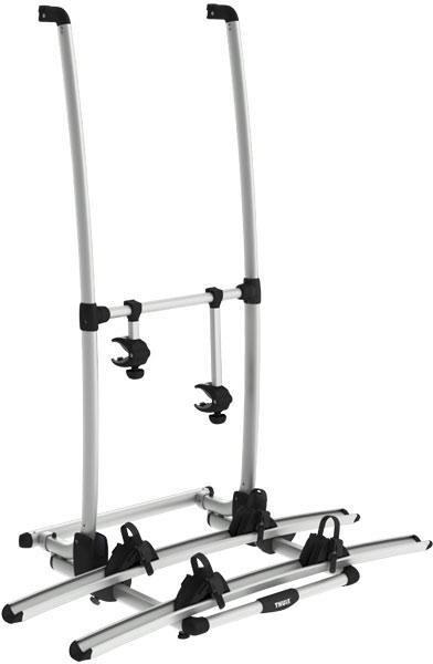 thule excellent standard heck fahrradtr ger von thule. Black Bedroom Furniture Sets. Home Design Ideas