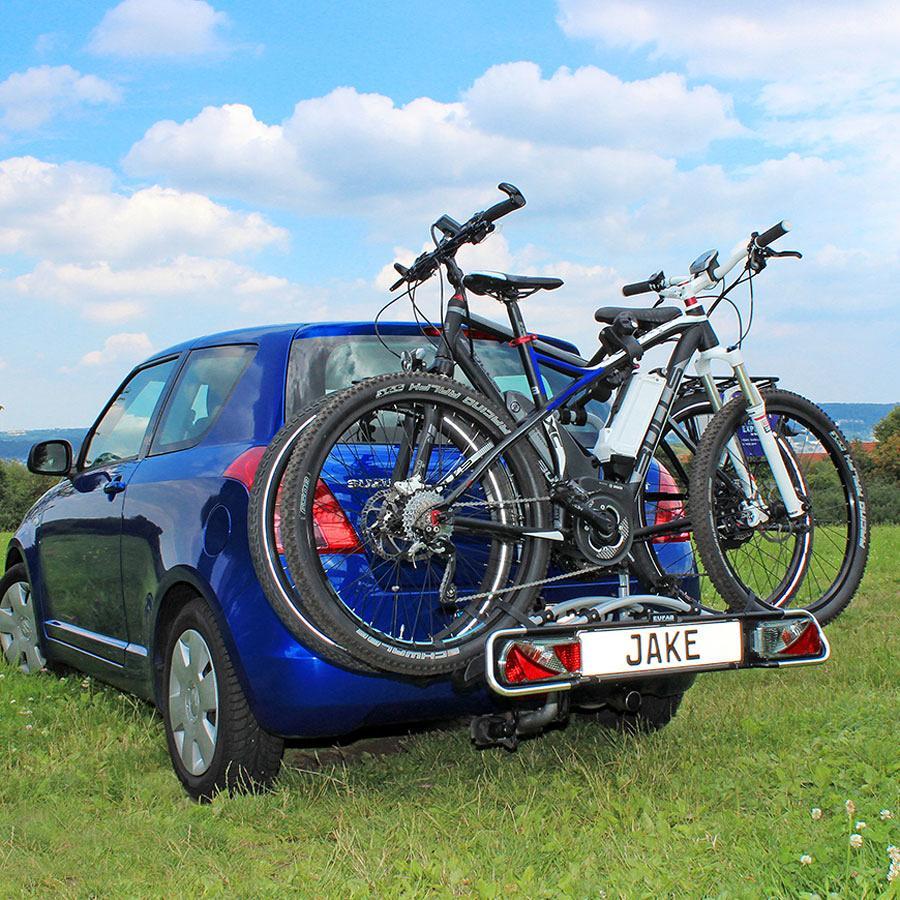 eufab jake ahk fahrradtr ger f r 2 fahrr der von eufab bei. Black Bedroom Furniture Sets. Home Design Ideas