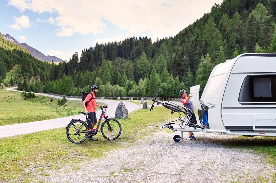 Thule Caravan Superb Deichsel Fahrradträger Von Thule Fahrradträger