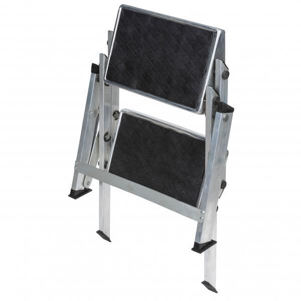 doppel trittstufe klappbar von bel sol bei camping wagner campingzubeh r. Black Bedroom Furniture Sets. Home Design Ideas