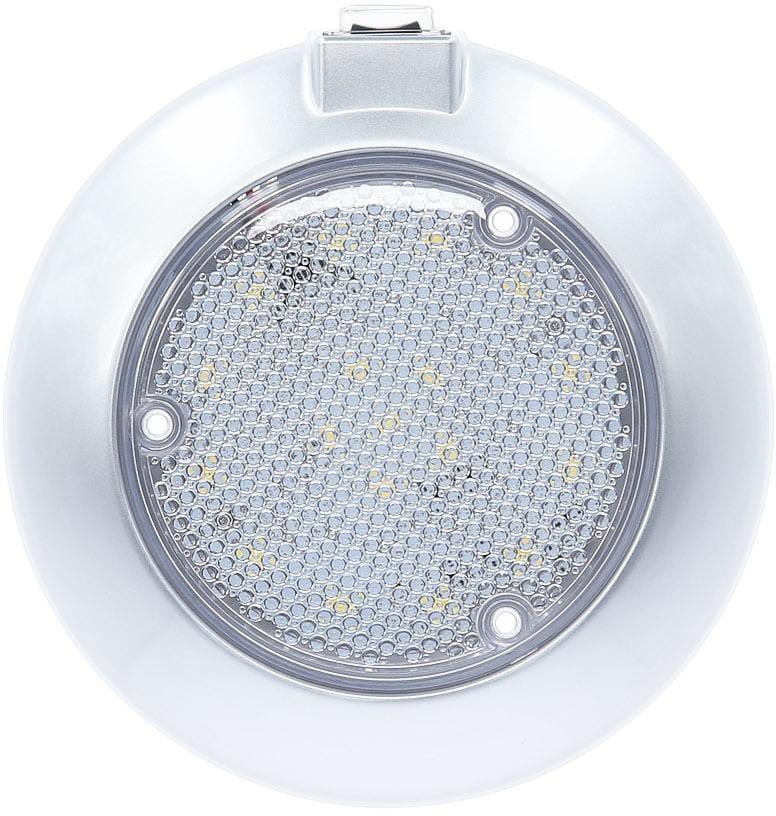 Carbest LED Deckenleuchte, 3-Stufen-Schalter, silbergrau, 12V / 3W ...