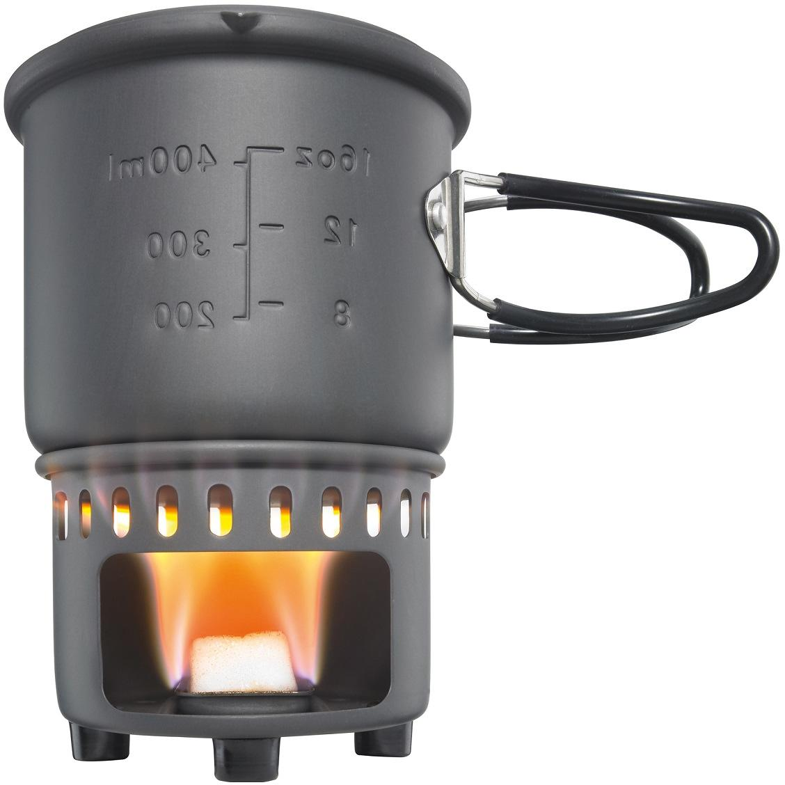 Esbit Trockenbrennstoff-Kochset Aluminium mit Antihaftbeschichtung