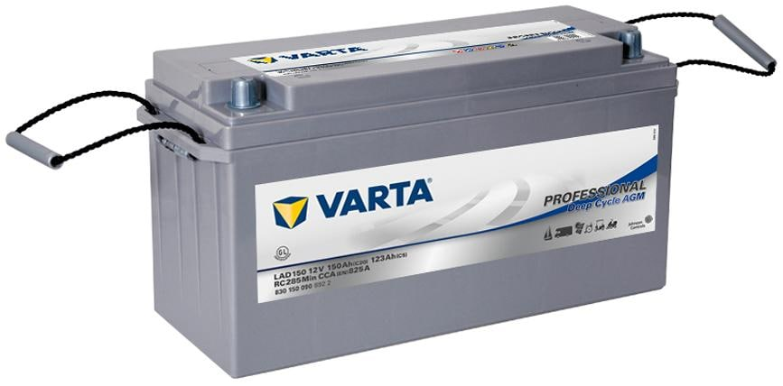 varta professional deep cycle lad150 agm batterie 150ah. Black Bedroom Furniture Sets. Home Design Ideas