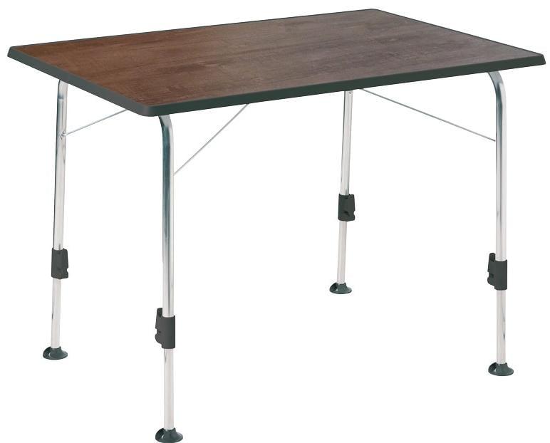 Campingtisch Holz.Dukdalf Stabilic 2 Campingtisch 100x68x56 72cm Holz Dekor