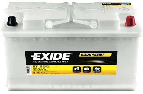 exide equipment et 650 blei s ure batterie 100ah von. Black Bedroom Furniture Sets. Home Design Ideas