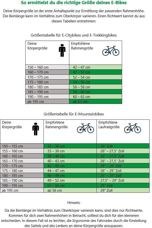 Ausgezeichnet Sport Rahmengrößentabelle Fotos - Benutzerdefinierte ...