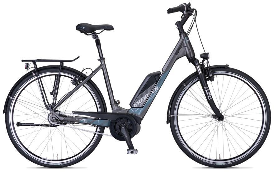 kreidler vitality eco 6 e bike 28 wave 45 cm schwarz. Black Bedroom Furniture Sets. Home Design Ideas