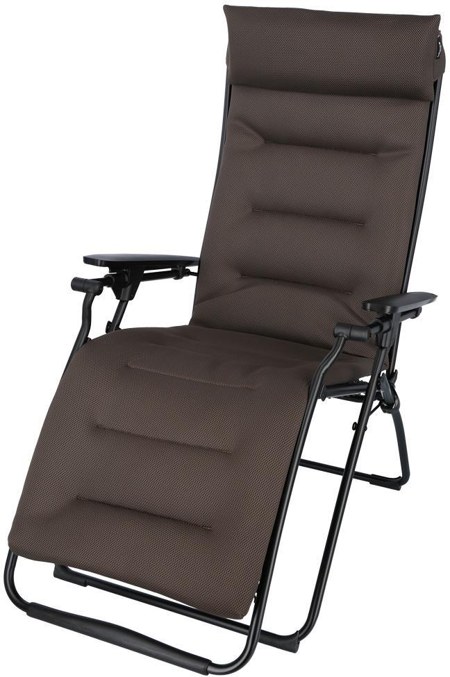 Lafuma Futura Air Comfort Campingstuhl Taupe Von Lafuma Mobilier