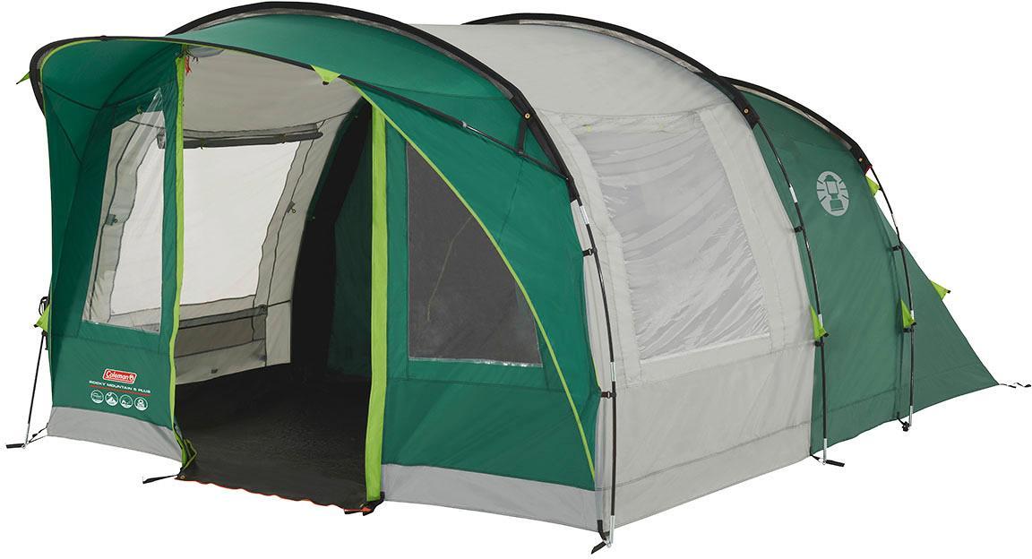 Coleman Rocky Mountain 5 Plus Zelt, 5-Personen, grau/grün von ...