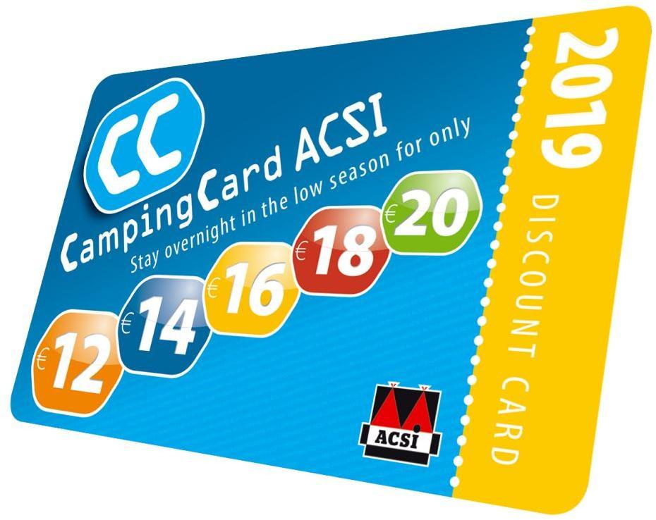 Acsi Karte.Acsi Campingcard Englisch Ermassigungskarte 2019 Von Acsi Bei