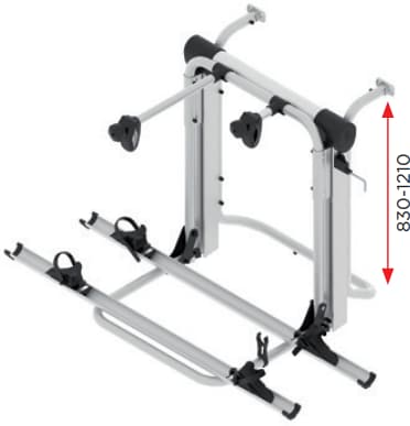 br systems bike lift short heck fahrradtr ger f r 2 e. Black Bedroom Furniture Sets. Home Design Ideas