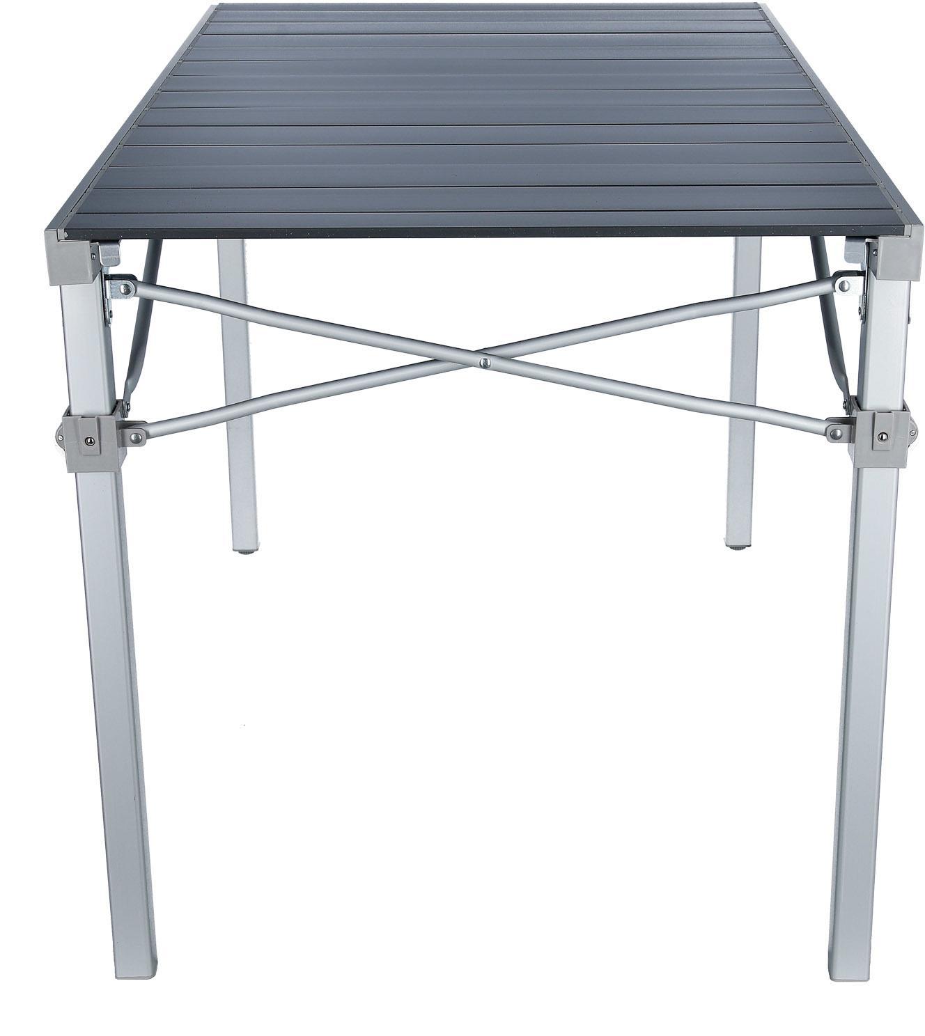 BRUNNER 0406069N Campingtisch titanium quadra grau