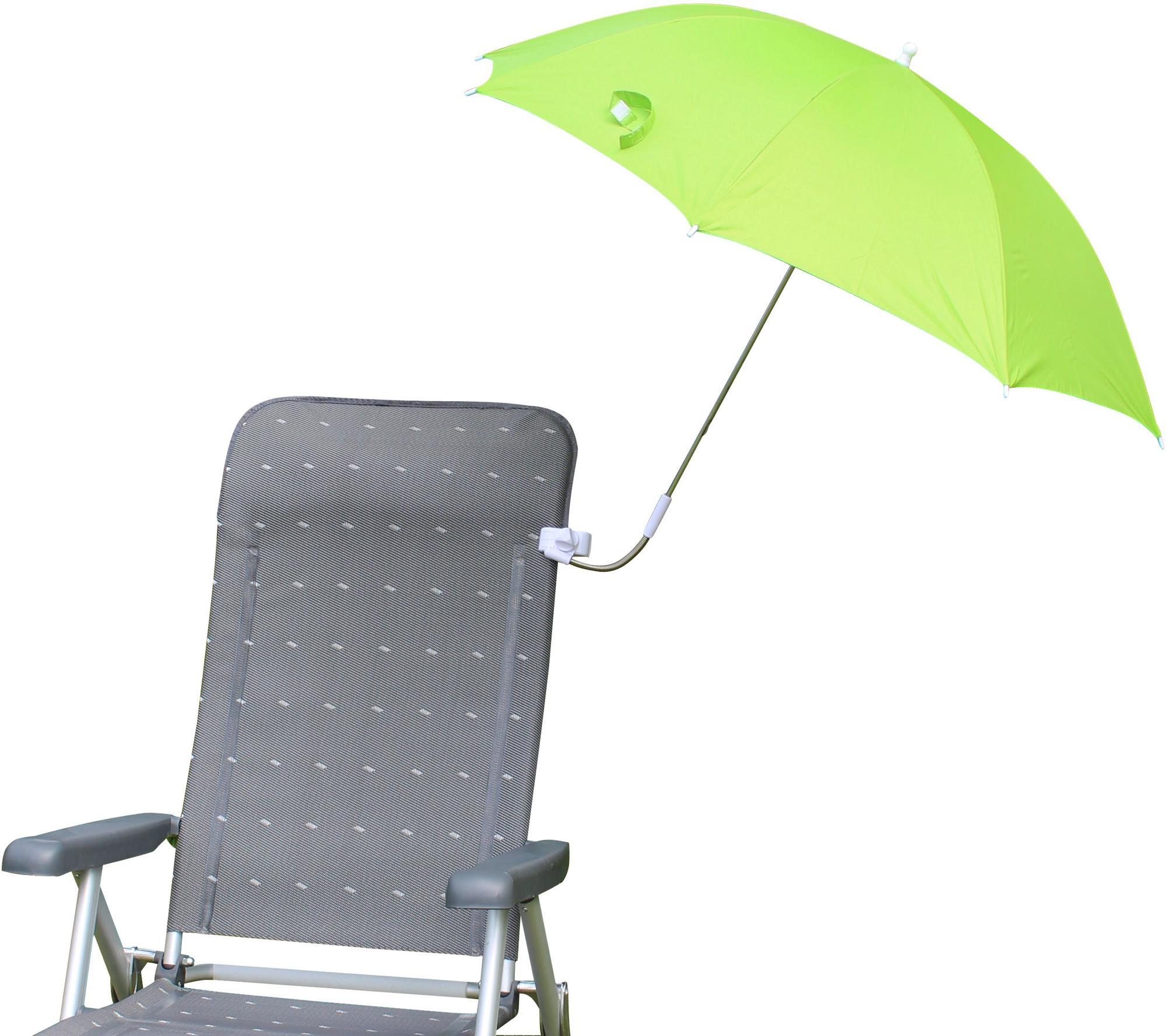 Eurotrail Stuhl Sonnenschirm Grün Von Eurotrail Bei Camping Wagner