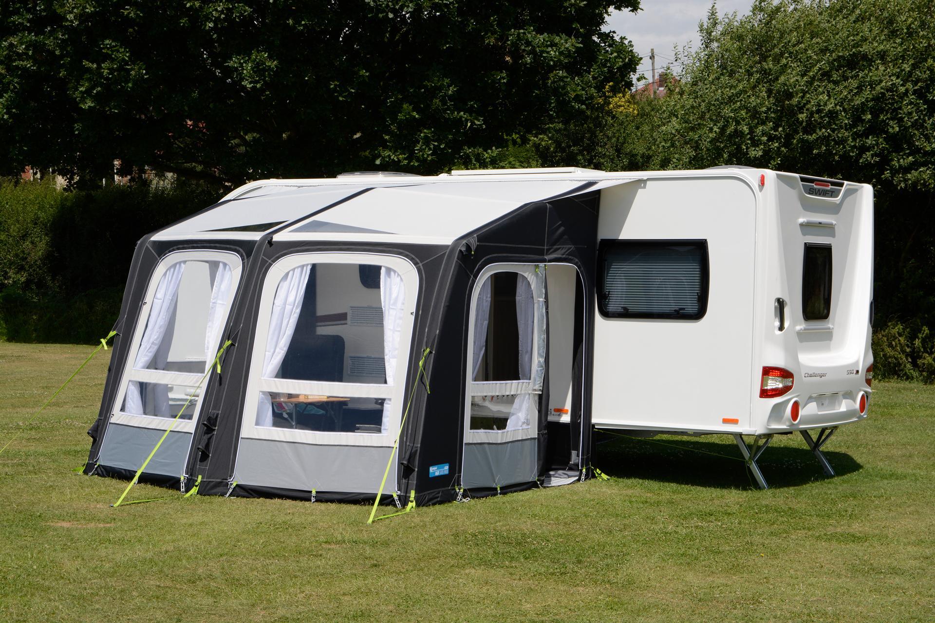 kampa ace air 300 vorzelt 300x300cm von kampa bei camping. Black Bedroom Furniture Sets. Home Design Ideas