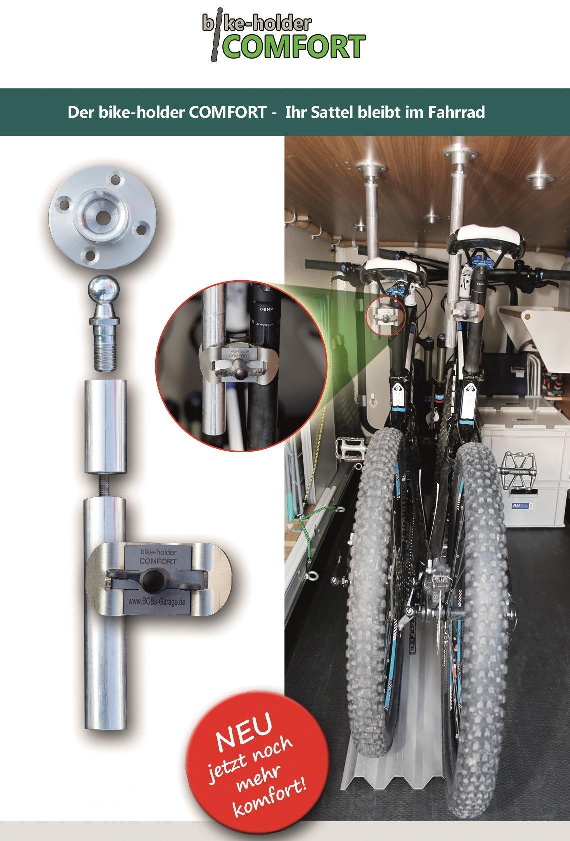 bike holder comfort set f r zwei fahrr der inkl 3er set. Black Bedroom Furniture Sets. Home Design Ideas