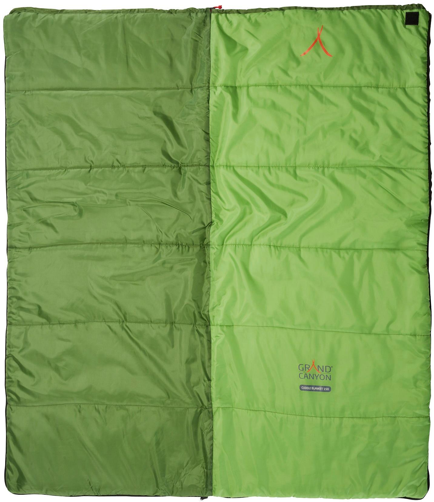 brand new 0658e 1b3f5 Grand Canyon Cuddle Blanket 150 Schlafsack, 150x65cm, grün