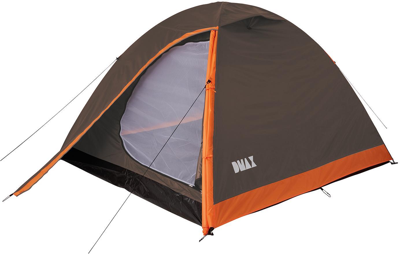 DMAX XXL Zelt, 2 Personen, braunorange von DMAX bei Camping